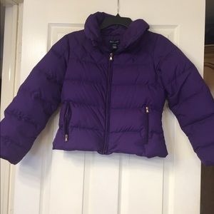 Ralph Lauren polo girls jacket size L 12/14